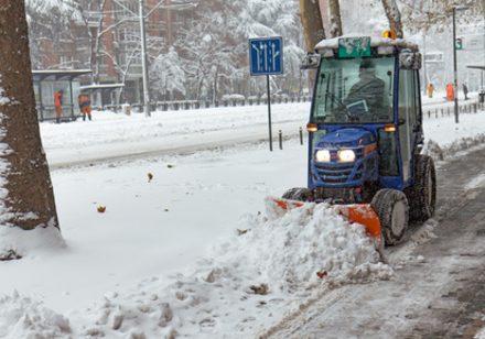 GPS-Ortung für den Winterdienst