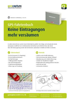PDF Flyer GPS Fahrtenbuch