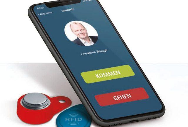 Mobile App für Zeiterfassung