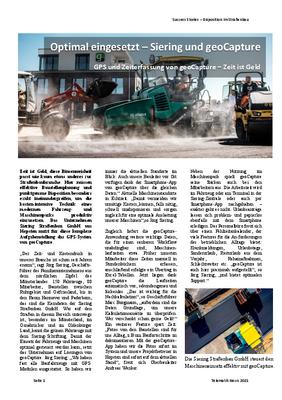 Pressebericht Siering Straßenbau GmbH
