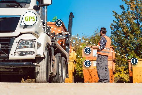 Container Tracking per GPS und Bluetooth dienen zum Diebstahlschutz