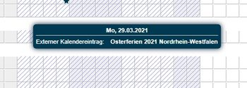 Kalenderfreigabe-Funktion aus dem Portal