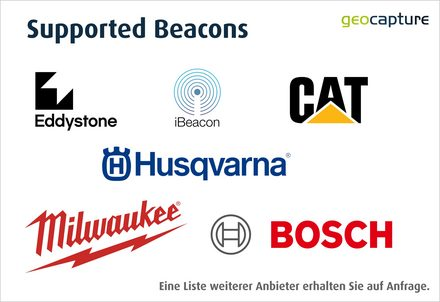 Supported Beacons Hersteller