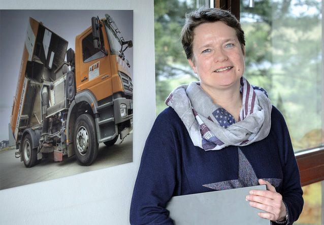 Auch Anja Schuowstra aus der Buchhaltung nutzt die vielen Funktionen von geoCapture