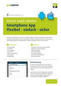Smartphone App, mobile Zeiterfassung