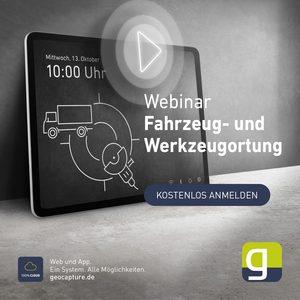 Webinar Fahrzeug- und Werkzeugortung