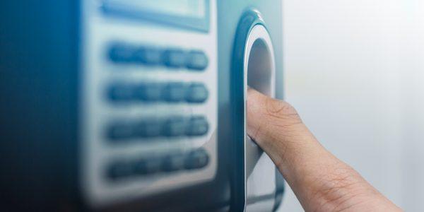 Zeiterfassung per Fingerabdruck-Scanner