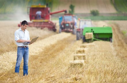 GPS-Ortung in der Landwirtschaft