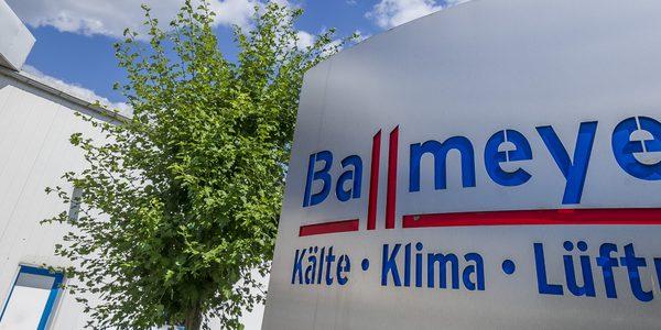 Ballmeyer Kälte-Klima GmbH Firmenschild
