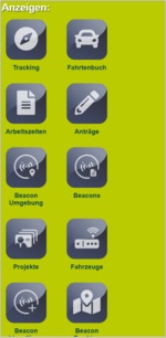 Screenshot, Funktionen der geoCapture App