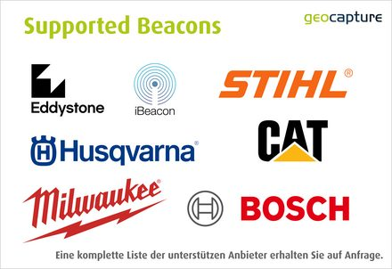 [Translate to Niederländisch:] Hersteller - Supported Beacons