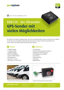 Allround GPS-Sender FMB120