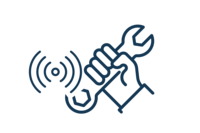 Icon Werkzeugortung über Beacons